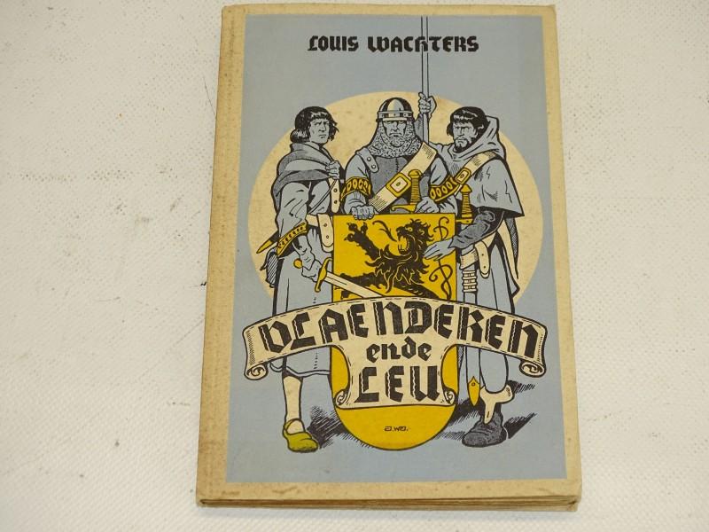 Boek: Vlaenderen Ende Leu,Louis Wachters, Davidsfonds, 1952