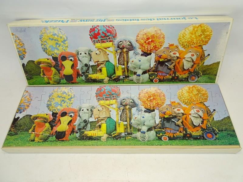 Retro Puzzel, Fabeltjeskrant: Verkeersophoping, 1968