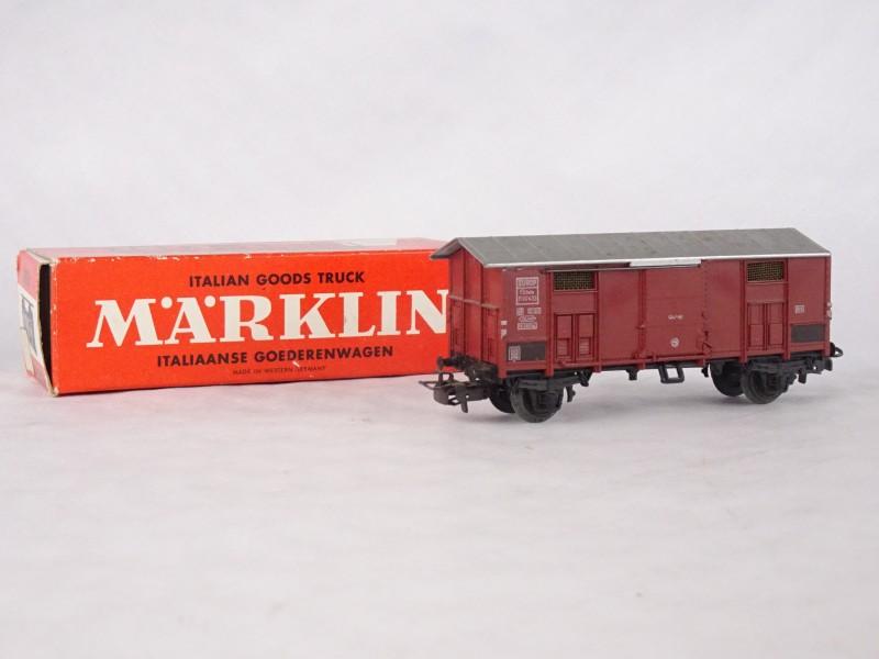 Italiaanse goederenwagen van MARKLIN.