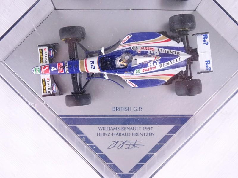 F1 miniatuur Heinz-Herald Frentzen Williams-Renault 1997.