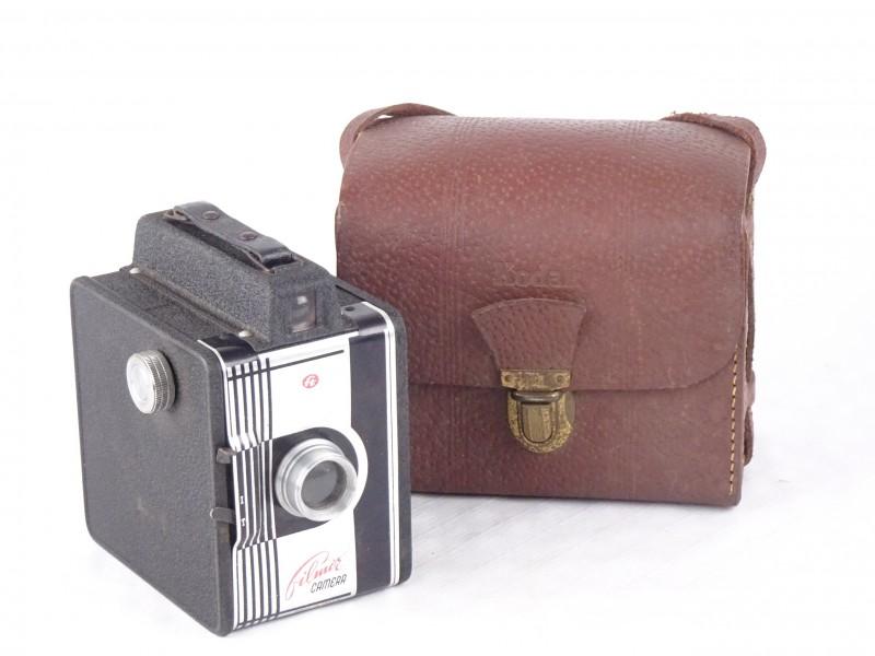 Vintage Filmor box-camera. Made in Italy. 1950-1954