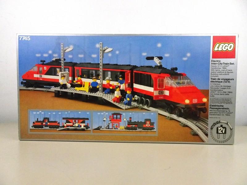 Lego elektrisch passagierstrein