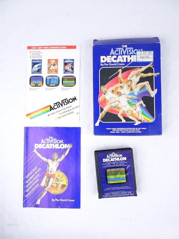 Atari spel Decathlon