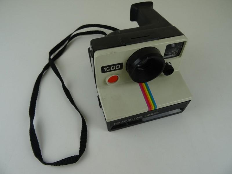 Polaroid 1000 Land Camera - rode knop ZONDER film