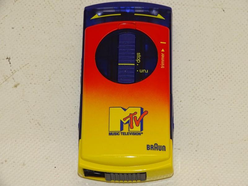 Scheerapparaat: Braun Pocket Twist, MTV Limited Edition, 1993