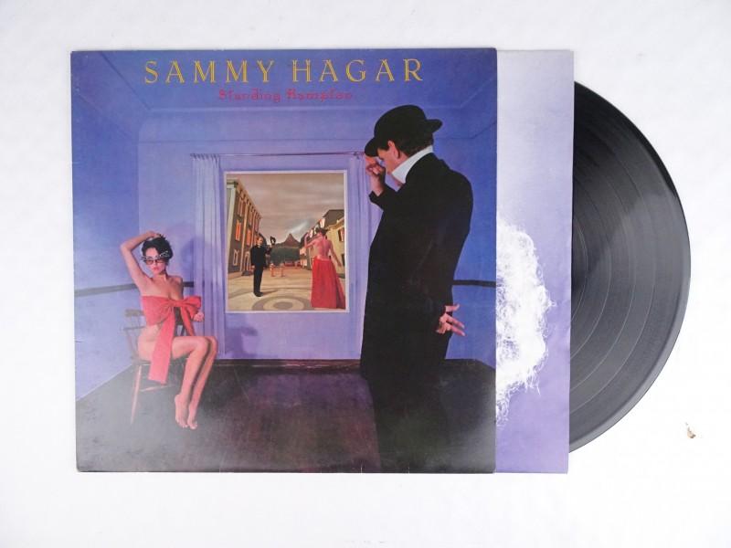 Vinyl album Sammy Hagar, Standing Hampton.