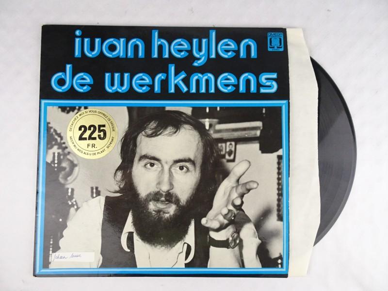 Vinyl album: Ivan Heylen – De Werkmens