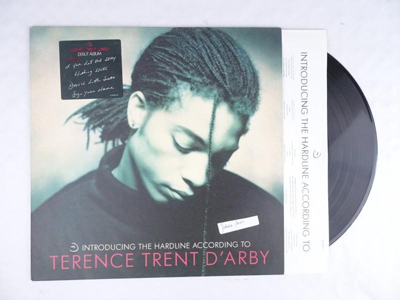Vinyl album: Terence Trent D'Arby – Introducing The Hardline According