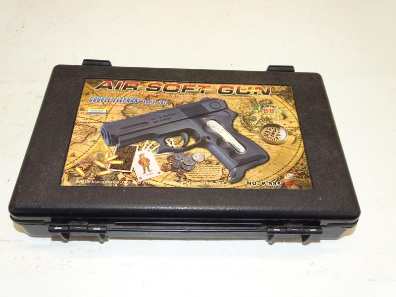 BB Gun / Air Soft Gun: P-585 - 6 MM, Senior Toys