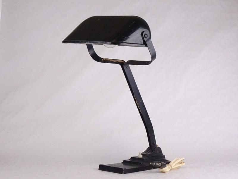Antieke bureaulamp ERPE.