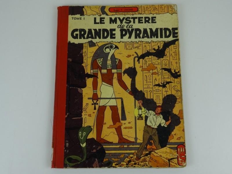 Edgar Jacobs:  Le mystere de la grande pyramide tome 1  1954