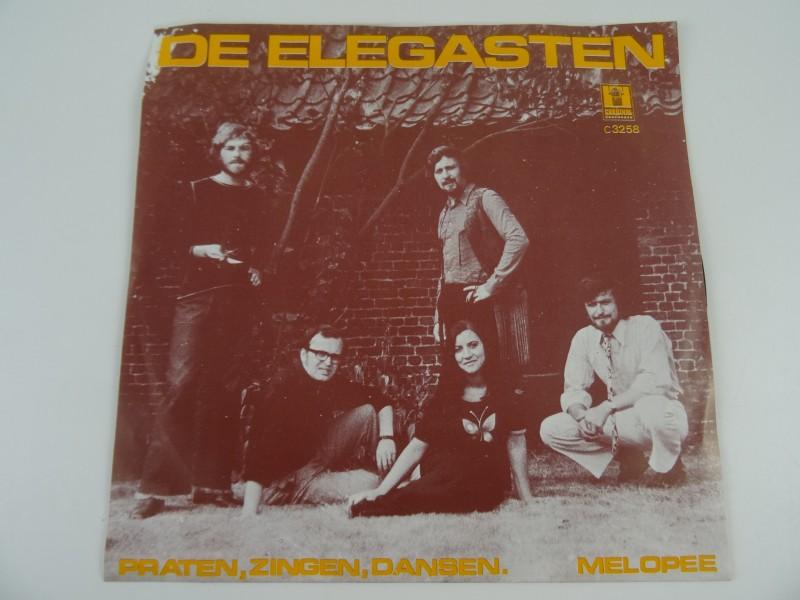 """De Elegasten – Praten - Zingen - Dansen / Melopee (7"""")"""