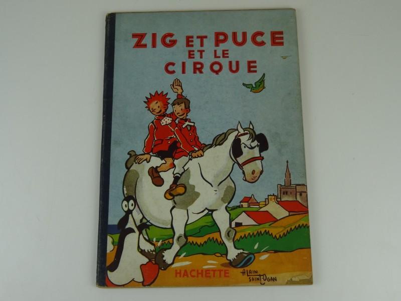 Alain Saint-Ogan: Zig et Puce et le cirque 1951 eerste druk
