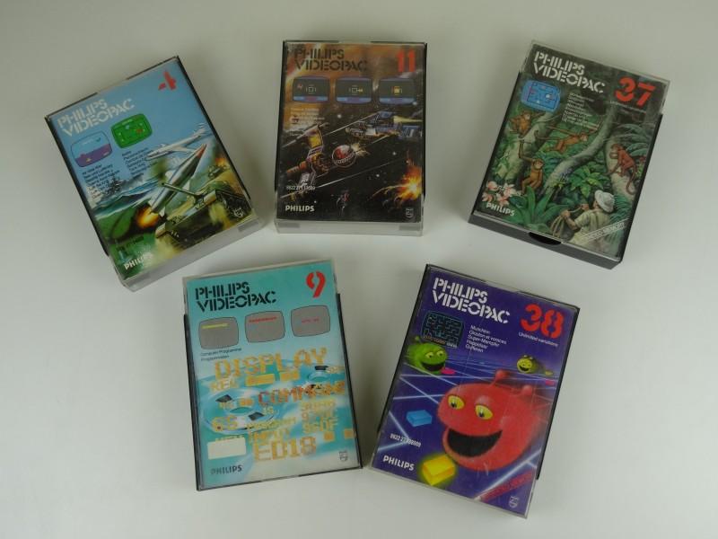 Philips Videopac G7000 games