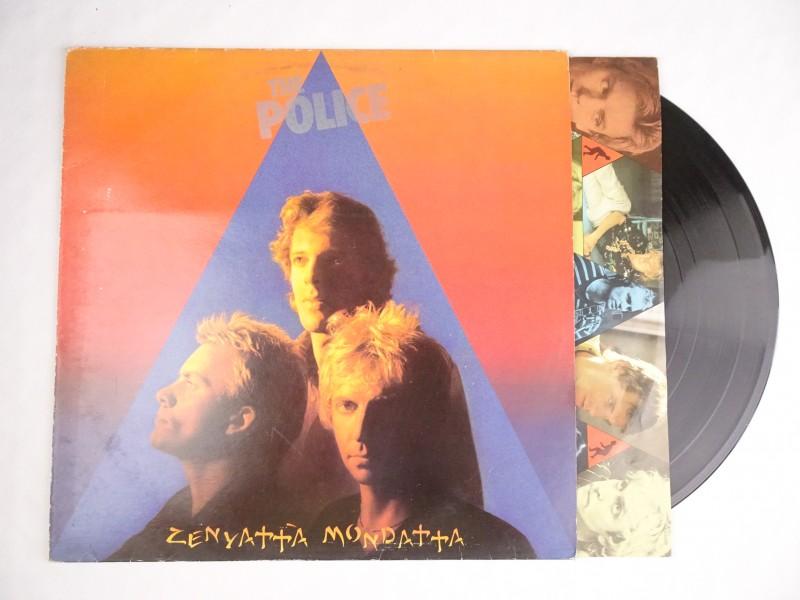 Vinyl album: The Police, Zenyatta Mondatta