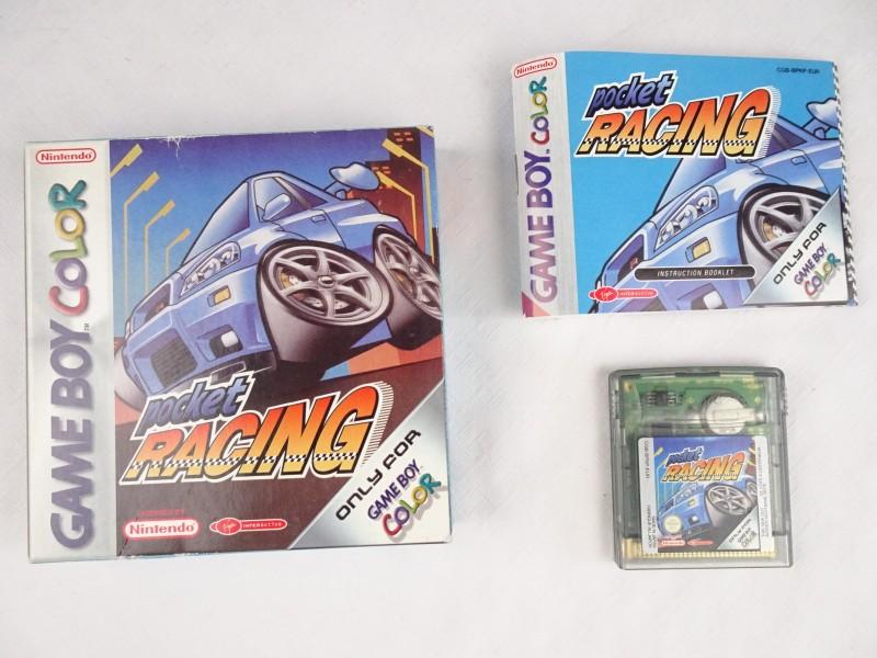 Nintendo Gameboy Color spel: Pocket Racing.