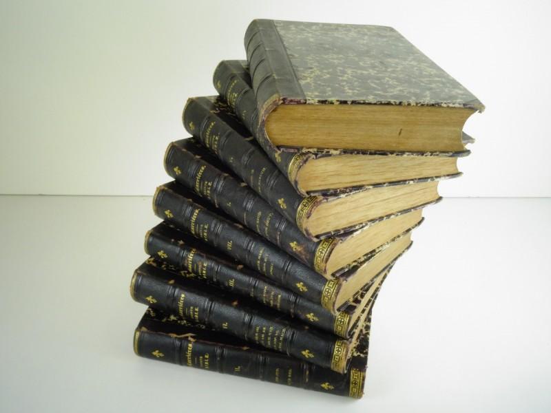 Sainte Bible contenant l'Ancien et le Nouveau Testament 8 delen 1874