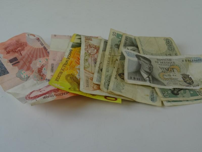 Lot geldbriefjes België