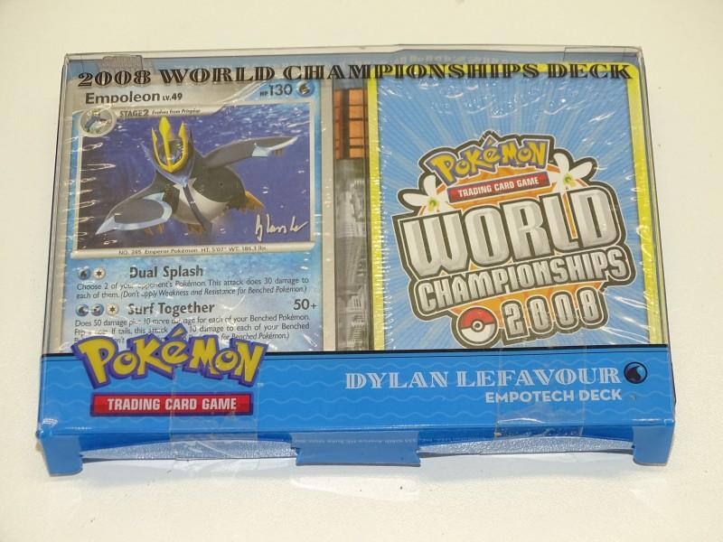 Pokemon World Championships Deck 2008: Empotech, Dylan Lefavour