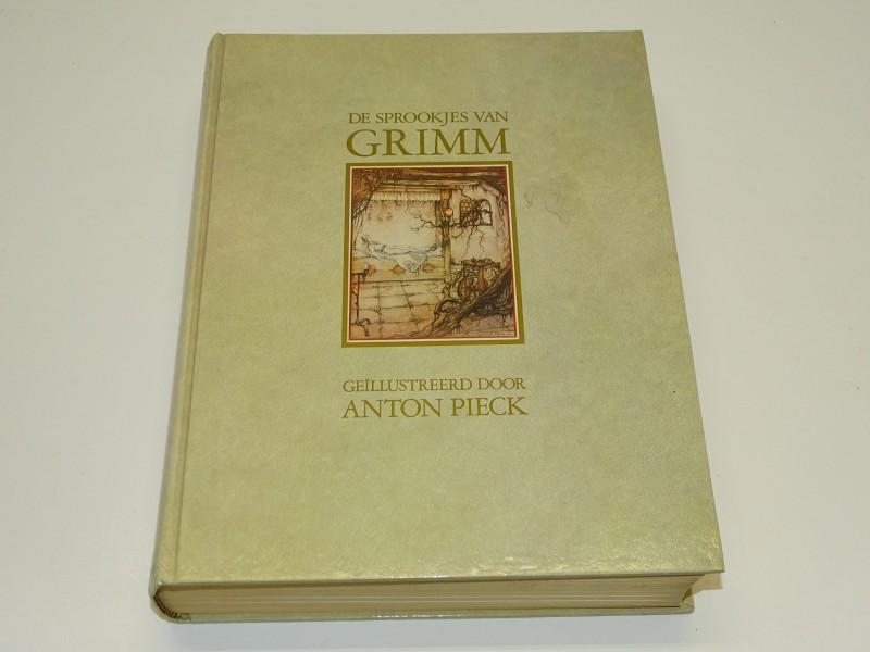 Boek, De Sprookjes Van De Gebroeders Grimm, Geïllustreerd Door Anton Pieck, 1984