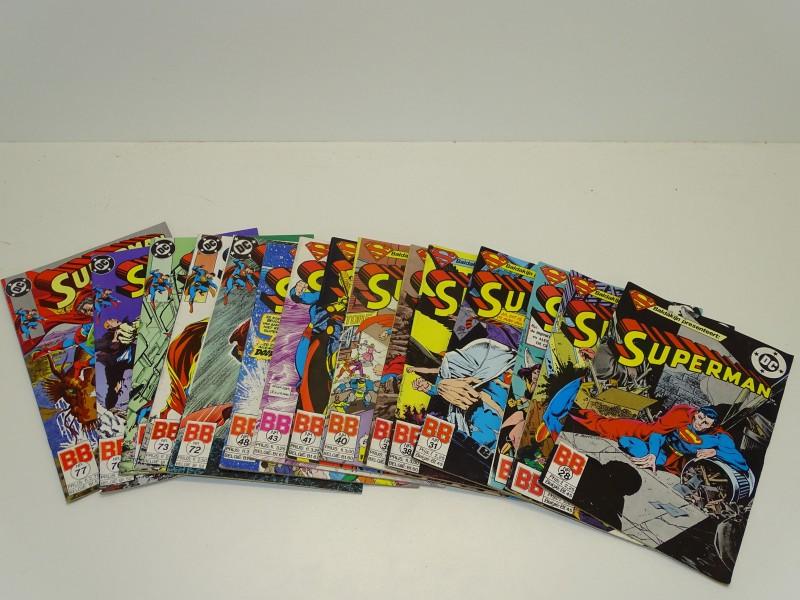 Vintage DC Comics, Superman 1986-1991