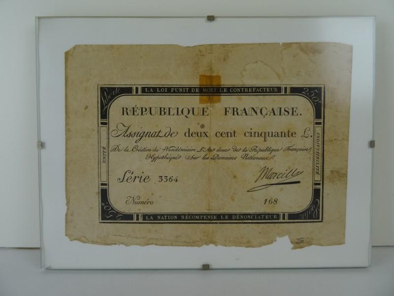 Assignatie Republique Française 18de eeuw