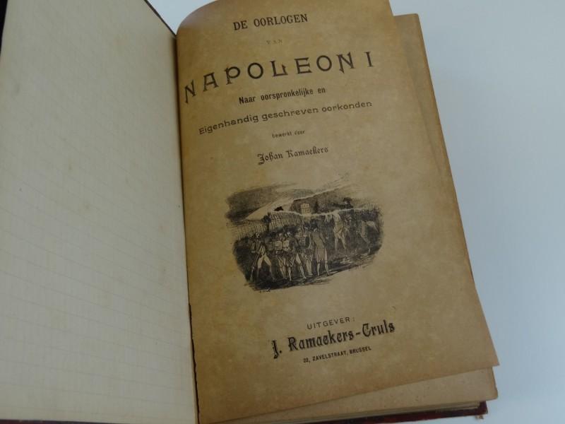 Johan Ramaekers: de oorlogen van Napoleon I 19e eeuw