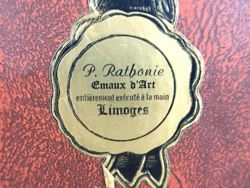 Emaux D'art Limoges (P. Rathonie)
