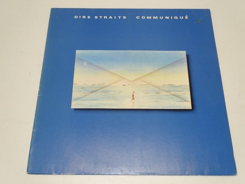 LP, Dire Straits, Communiqué, 1979
