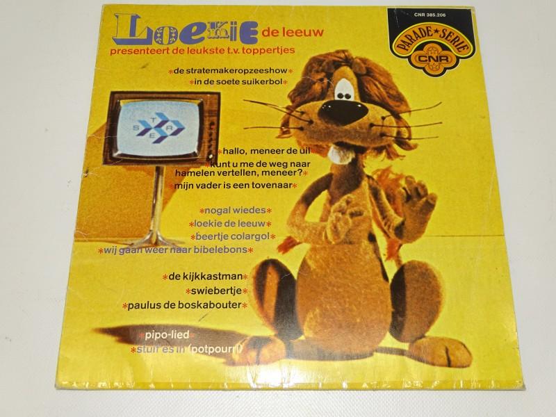 LP, Loekie De Leeuw Presenteert De Leukste T.V. Toppertjes, 1973