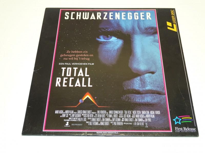 Laser Disc: Total Recall, Schwarzenegger, 1990