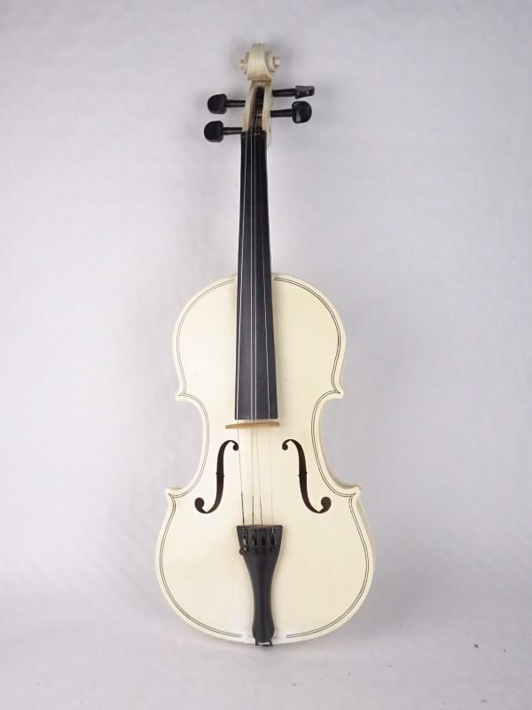 Witte viool.