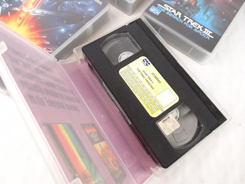 BOX STAR TREK The Collection. 6 videos.