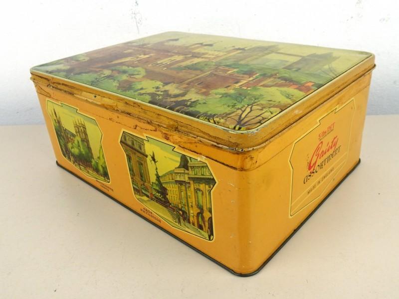 Vintage blikken doos (JAMESONS Chocolates)