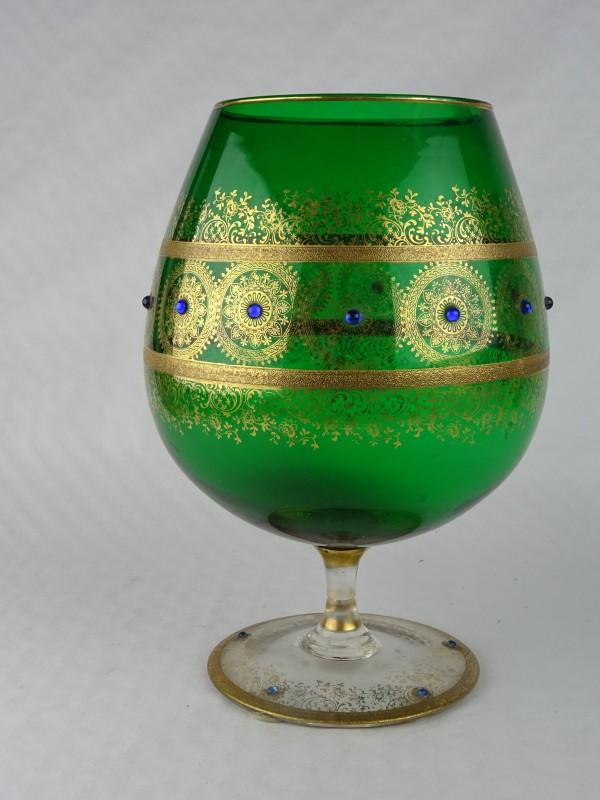 groot groen glas