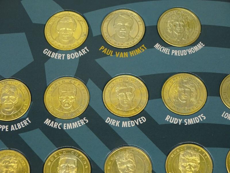 Munten/Medailes, Rode Duivels Wereldbeker, 1994