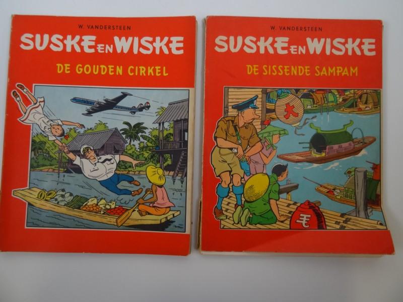 Willy Vandersteen: 2 albums in tweekleurenreeks lot 3