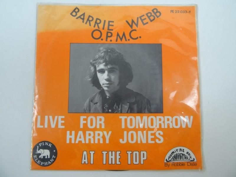 Single Barrie Webb - Live for tomorrow Harry Jones
