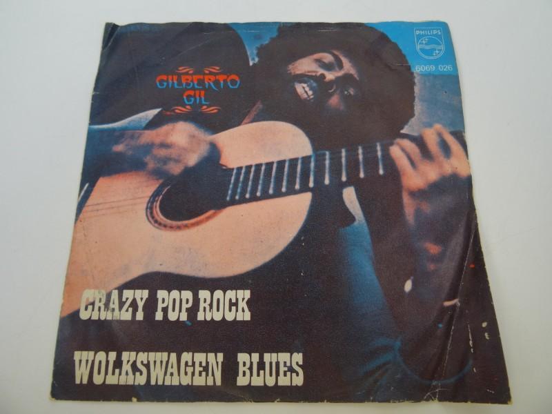 Single Gilberto Gil - Crazy pop rock