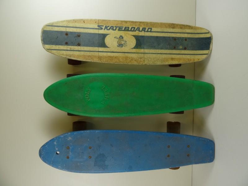 3 Vintage skateboard decks
