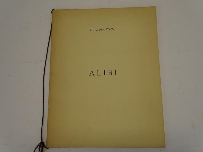 Gehandtekend Dichtbundel, Fritz Franken, Alibi, 1958