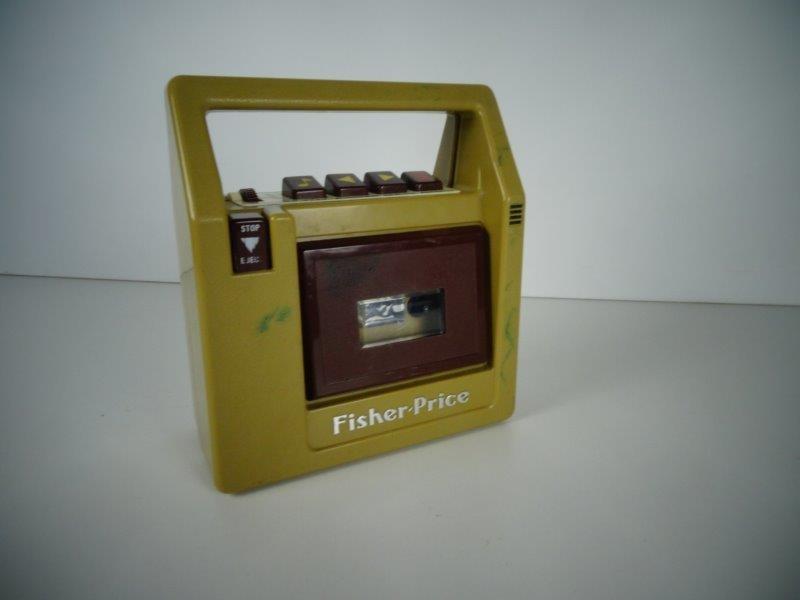 Fisher Price cassettedeck #826