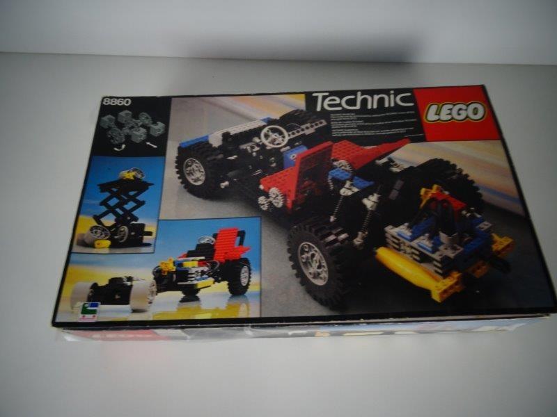 Technic Lego - 8860 - Auto Chassis
