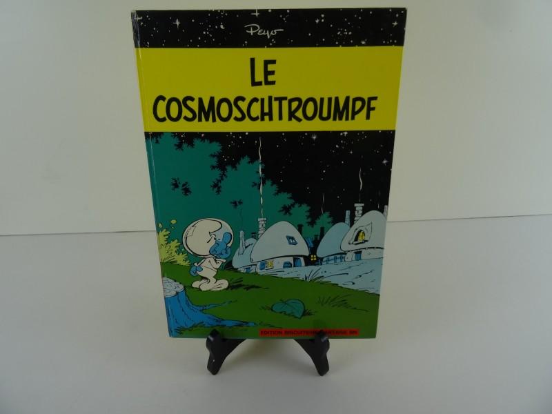 Les Schtroumpfs T6 - Le Cosmoschtroumpf - C - EO (1967) edition biscuiterie nantaise bn