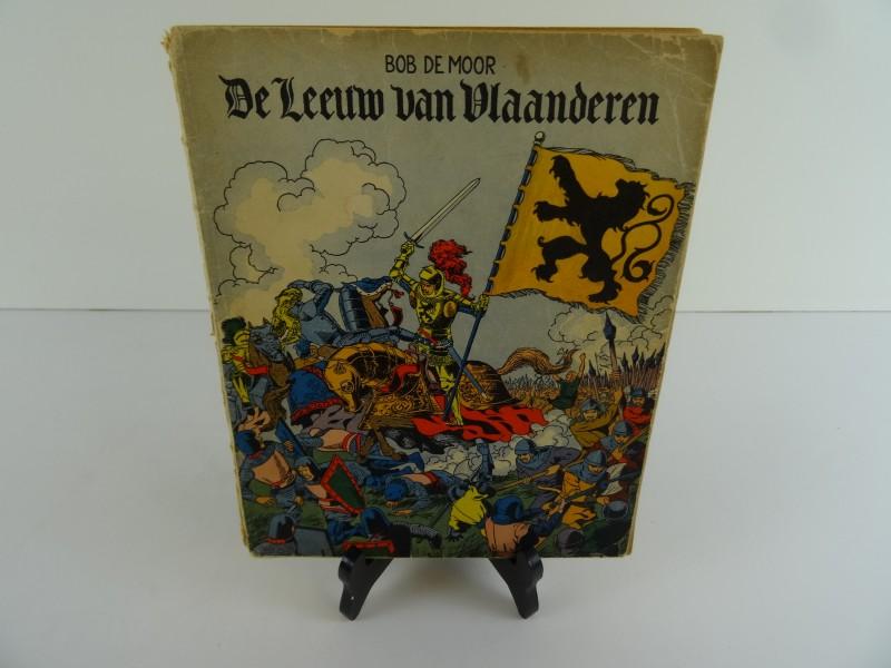 Bob De Moor: De leeuw van Vlaanderen 1952 eerste druk