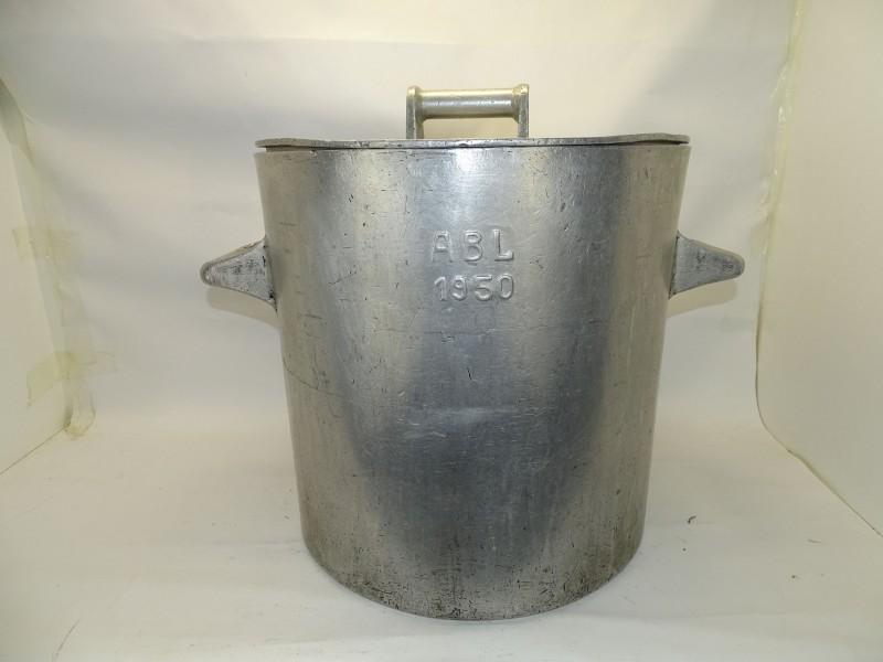Grote Vintage Kookpot Ø 44.5 cm, ABL 1950
