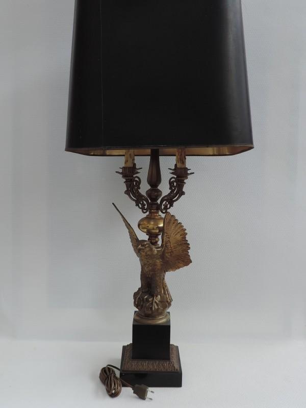 Middelhoge decoratie lamp.