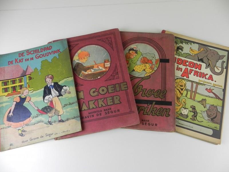 4 Nederlandstalige kinderboeken: 3 ervan vintage