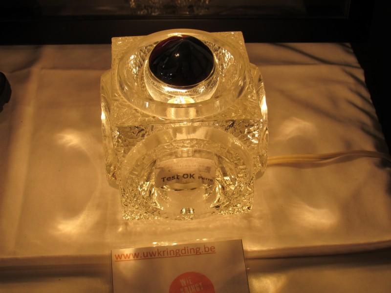Peill & Putzler kubus tafellamp, getest en werkend