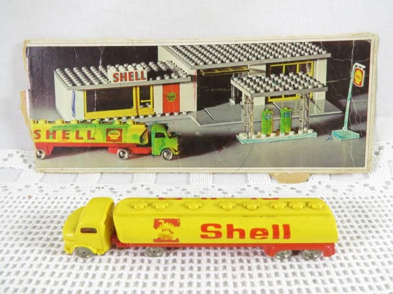 Vintage Lego Shell tankwagen